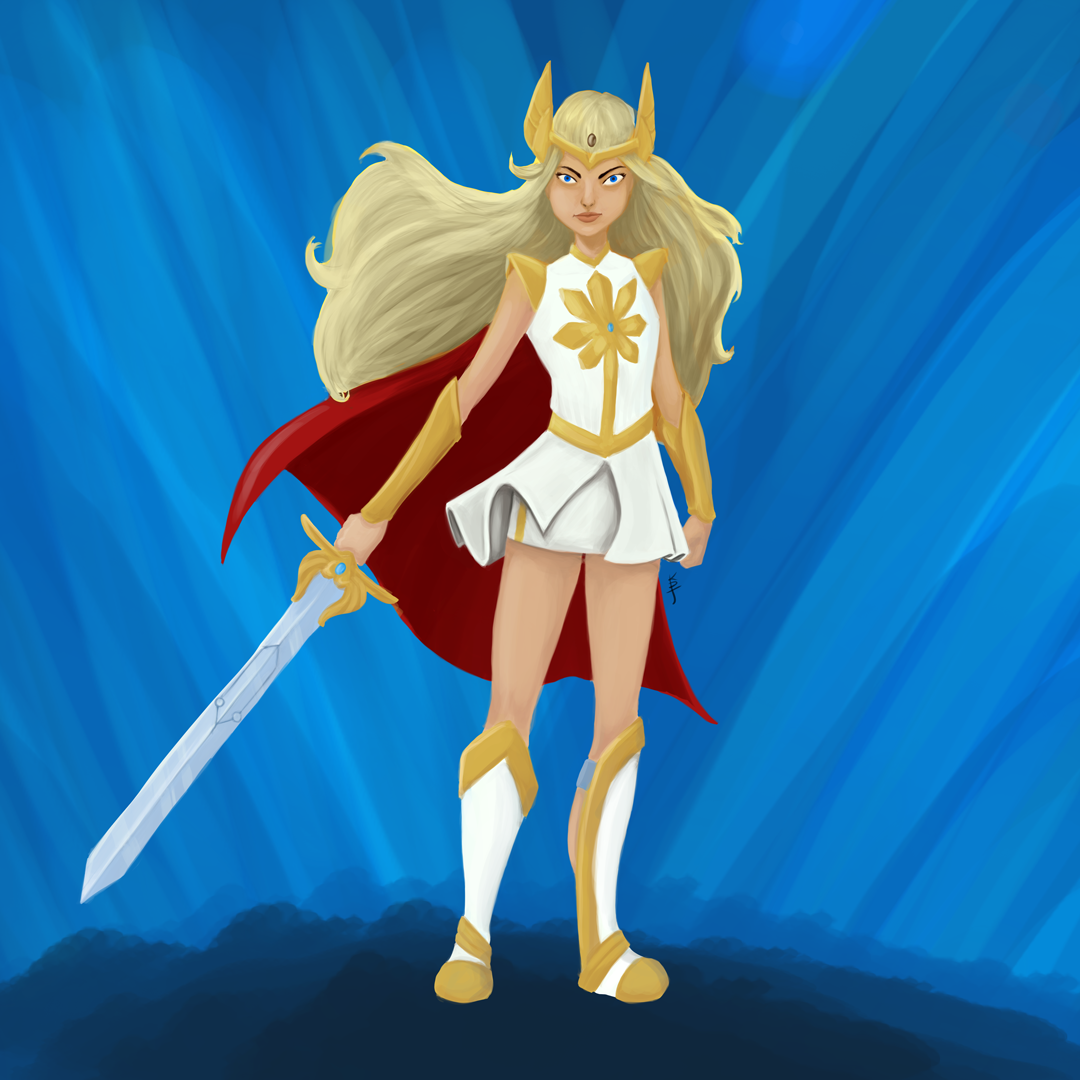 She-Ra Princess of Power: Artwork by KDJouineau