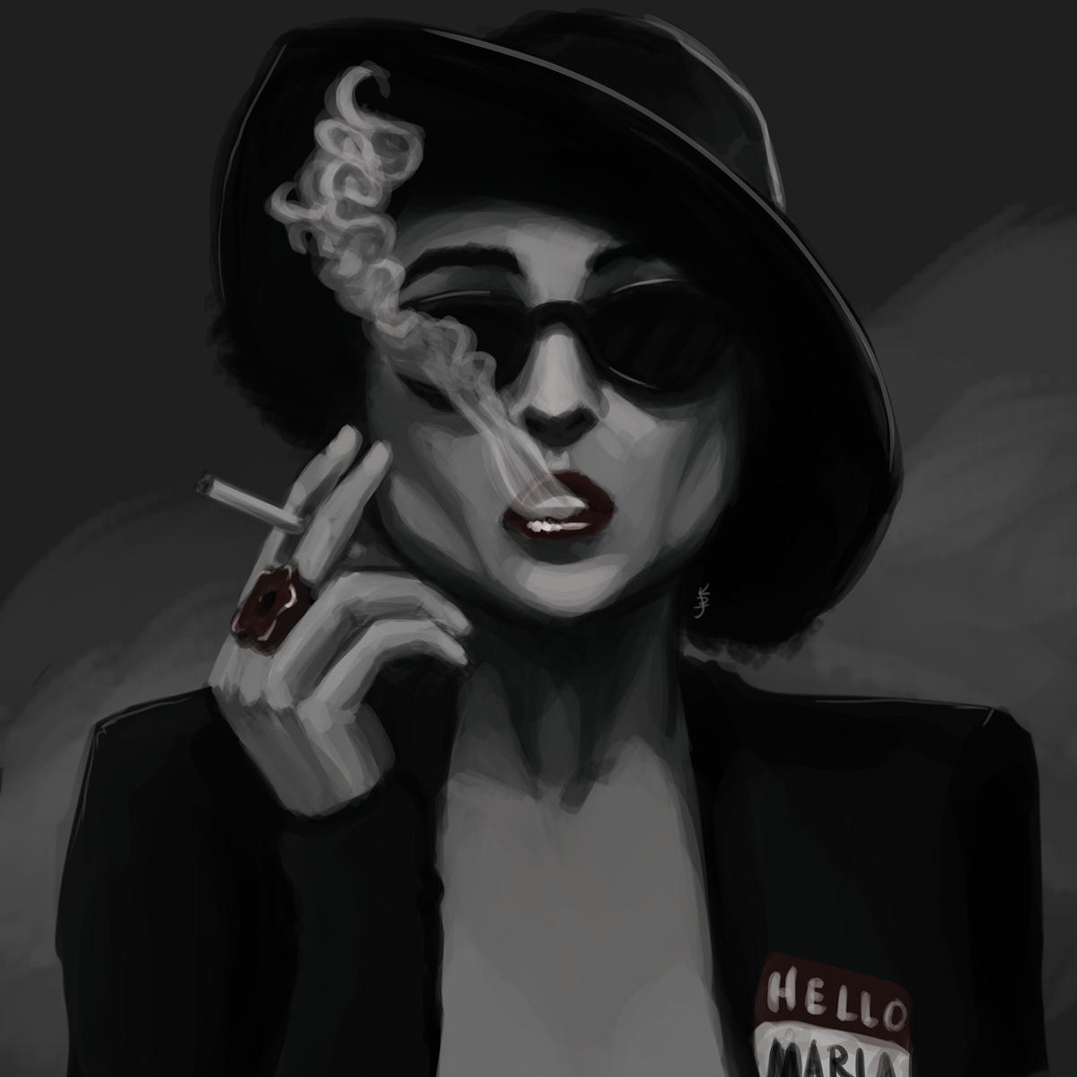 Marla: Artwork by KDJouineau